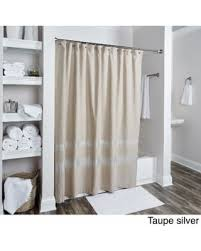 Charcoal Shower Curtain Bargains On Chevron Collection Shower Curtain By Rizzy Home