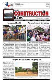 austin construction news july 2016 by construction news ltd issuu