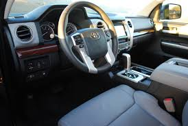 nissan tundra interior review 2014 toyota tundra 4 2 ltd crewmax 5 7 v8 car reviews