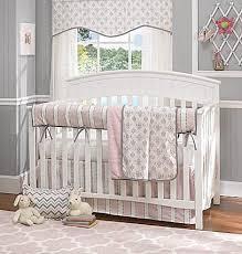 lavender damask bumperless crib bedding liz and roo