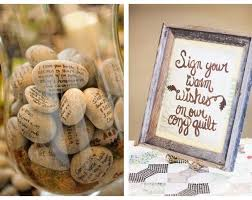 alternative guest book ideas real wedding guest book alternatives