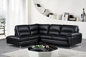 Gray Leather Sectional Sofa Living Room Gray Leather Sofa Paulina Grey Italian Leather