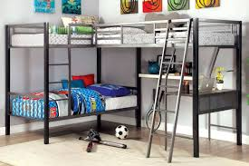 Furniture Of America Ballarat LShaped Triple Twin Bunk Bed - Furniture of america bunk beds