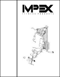 impex home gym phe1000 user guide manualsonline com