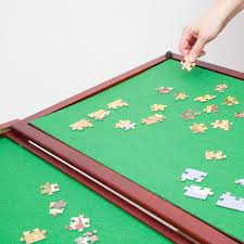 Jigsaw Puzzles Tables Bits And Pieces Wooden Fold And Go Jigsaw Table Collapsible