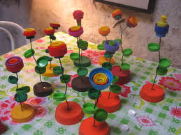 bottle top flowers sculpture gloucestershire resource centre http