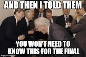 Finals Meme - finals week memes to numb the pain privatebackupn3rdbomber