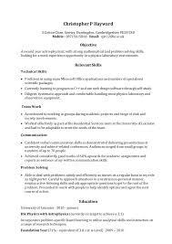 Pianist Resume Sample by Relevant Skills Resume Cv Resume Ideas