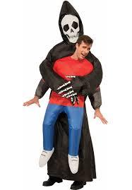 Carrying Halloween Costume Inflatable Carrying Grim Reaper Costume Escapade Uk
