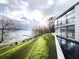 Modernhouse by Extraordinary Modern House On The Lake Front A Luxury Home For