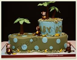monkey baby shower cake monkey baby shower cakes baby showers ideas