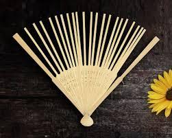 bamboo fan bamboo fan frames set of 10