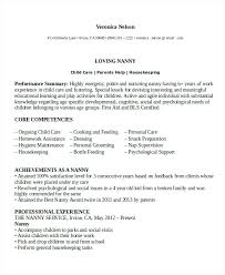100 resume for nanny position download sample nanny resume