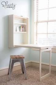 Fold Out Desk Diy Homcom Fold Out Convertible Wall Mount Desk White Murphy Desk