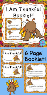 i am thankful for thanksgiving writing booklet thanksgiving