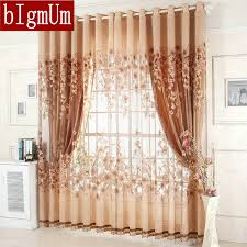 on sale ready made window curtains for living room bedding room