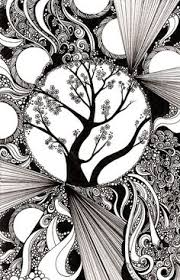 zentangled garden this is my second zentangle i like drawing