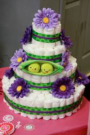 twin diaper cakes my creations pinterest twin diaper cake