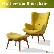 u best retro vintage wool grant featherston r160 contour chair