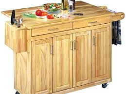 Wood Top Kitchen Island by Kitchen Island Awesome Rolling Kitchen Island Beguiling