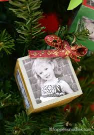 Home Hardware Christmas Decorations by Diy Photo Block Ornaments