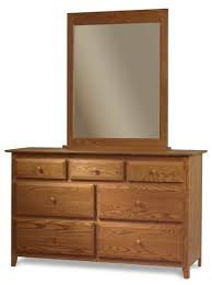 english shaker dressers and mirrors amish bedroom furniture
