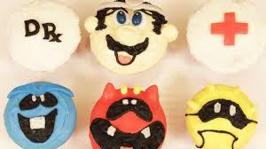 dr mario cupcakes nerdy nummies youtube