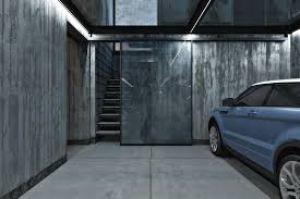 construction blog design build garage in glasgow four car interior