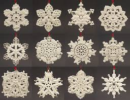 lenox twelve days of snowflake 12 ornament set at