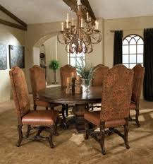 Tuscan Dining Room Dining Room Round Table
