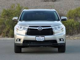 toyota suv review 2014 toyota highlander crossover suv road test and review