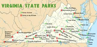 Map Of Southwest Virginia by Virginia State Parks Map Virginia Map