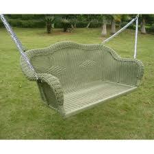 Fake Wicker Patio Furniture - amazon com international caravan 3183 wt ic furniture piece resin