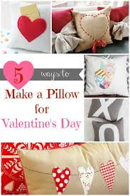 Diy Sewing Projects Home Decor 203 Best Valentine U0027s Day Crafts Images On Pinterest Valentine