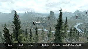 Map Of Skyrim World Map In Full 3d Maps Elder Scrolls V Skyrim Mods Curse