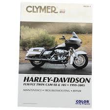 clymer repair manual harley davidson flt flhr u0026 fltr twin cam