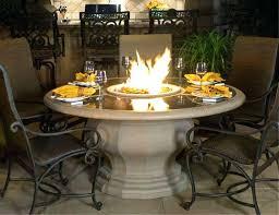Gas Fire Pit Table Sets - custom design fire pit dining table fire pit dining table propane