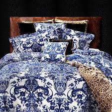 Porcelain Blue Duvet Cover Buy Roberto Cavalli Azuleyos Duvet Set Super King Blue Amara