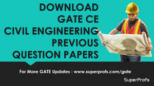 download gate ce civil engineering previous years question papers pdf