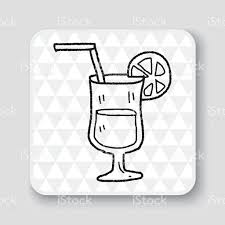 margarita drawing cocktail doodle stock vector art 505779792 istock