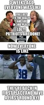 Patriots Lose Meme - you guys were gloating so hard when the patriots lost 2 straight