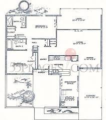 spanish villas s 3 floorplan 1416 sq ft sun city