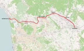 Lucca Italy Map Viareggio U2013florence Railway Wikipedia