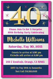 23 best 40th birthday invitation ideas images on pinterest 40th