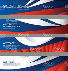Eussian Flag Abstract Russian Flag Background Russia Art Stock Vector Art