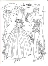 60 best paper dolls images on pinterest coloring coloring