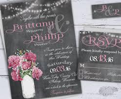 chalkboard wedding invitations printable country wedding invitations diy rustic wedding