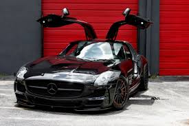 mercedes boutique black mercedes sls amg by wheels boutique gtspirit