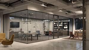cloison verre bureau cloison amovible en bois vitrée de bureau fimo modernus
