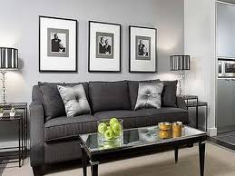 grey living room walls brown leather arm sofa sets room saving